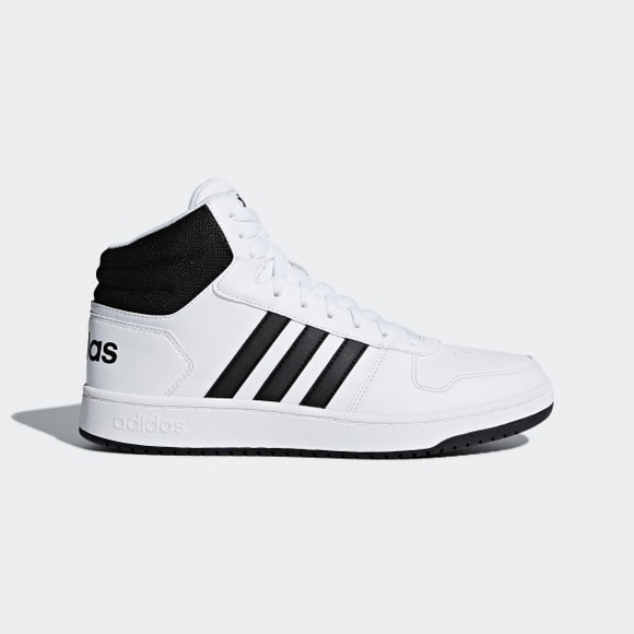 online store 9c35e 6a8c0 BNWT Adidas Mens Hoops 2.0 Mid Sneakers Size 10